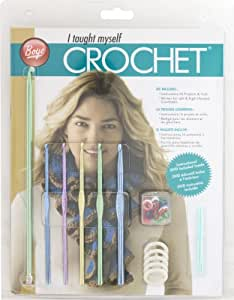 Simplicity Boye Beginners Teach Yourself Crochet Set