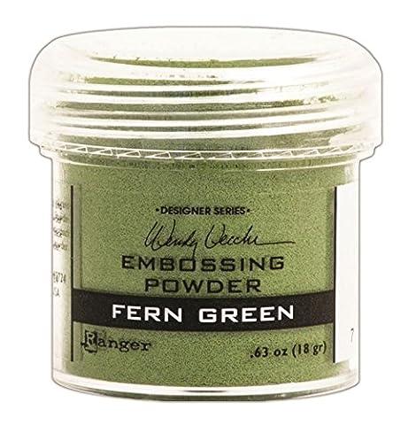 Ranger 1 oz Embossing Powder, Fern Green