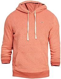 Hollister - Homme - Textured Icon Pullover Hoodie Sweat à Capuche Sweatshirt - Manche Longue