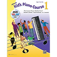 Alfred's Kid's Piano Course, Bk 1: The Easiest Piano Method Ever!, Book, DVD & Online Audio & Video