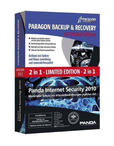 - Panda Internet Security 2010 & Paragon BackUp & Recovery 10 *LIMITED* inkl. Update auf Panda Internet Security 2016