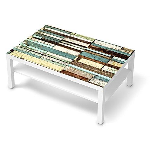 creatisto Folie für IKEA Lack Tisch 118x78 cm | Dekor Möbel-Aufkleber Folie Möbel-Tattoo | Möbel renovieren Wohnideen | Design Motiv Schiffsbruch