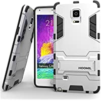 HOOMIL Custodia Galaxy Note 4 Armor Serie Silicone Built- in