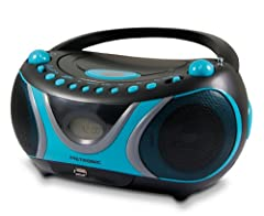 Metronic 477118 CD-MP3-Radio Sportsman Blau Schwarz