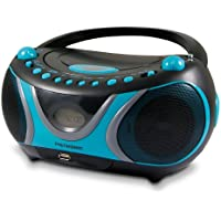 Metronic 477118 Radio/Lecteur CD/MP3 Portable Sportsman - Noir et Bleu