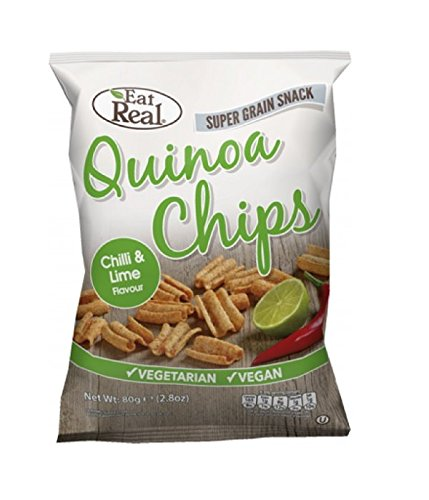 Eat Real - Quinoa Chips - Hot & Spicy - 80g