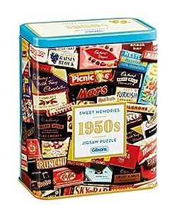 Gibsons 1950s Sweet Memories - Puzzle en Lata de Regalo (500 Piezas)