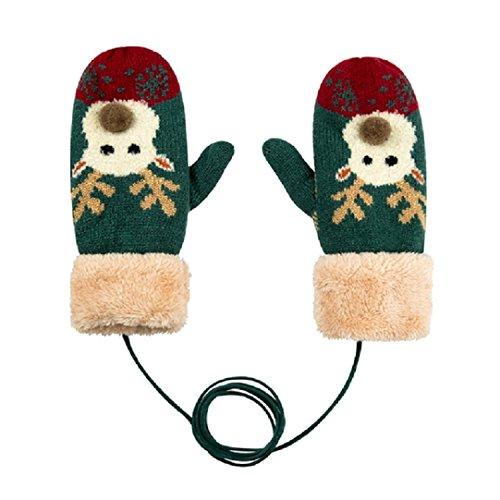 Pour-enfantsenfants-Hiver-chaud-Gants-en-tricot