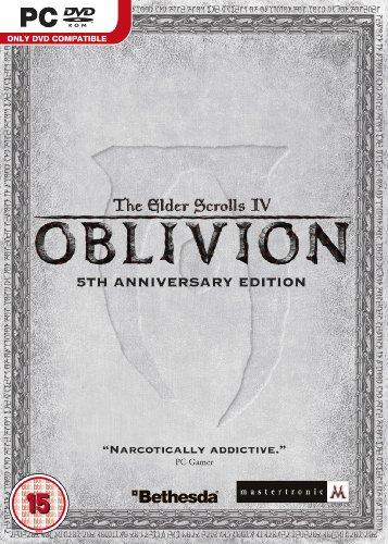 The Elder Scrolls IV: Oblivion - 5th Anniversary Edition (PC DVD) [Edizione: Regno Unito]