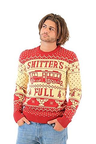 National Lampoon Vacation Shitter's Full hässlich Weihnachten Sweater (Erwachsener X-Large) (Weihnachts-national Lampoon)
