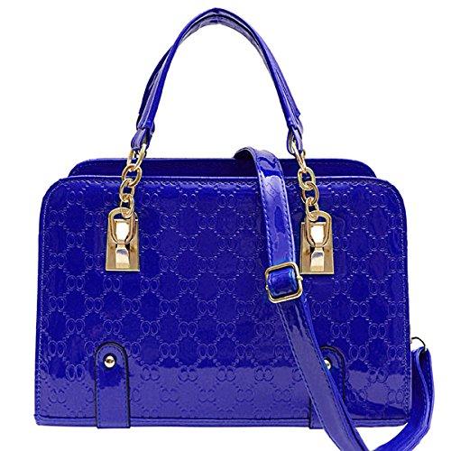 Royal Blue Handbag: Amazon.co.uk