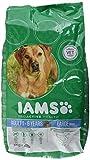 Iams Dog Adult Large Breed Trockenfutter (mit Huhn, für Erwachsene Hunde großer Rassen, enthält viel Hochwertiges tierisches Protein), 3 kg Beutel