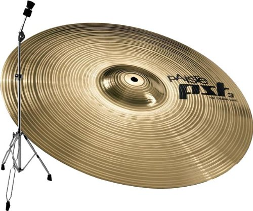 PAISTE PST3 CRASH RIDE PLATILLO DE 18 + PARA PLATILLOS RECTO LYD25