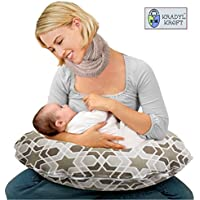 KRADYL KROFT 5-in-1 Born Star Hypoallergenic, Firm Terra Firma Micro Fiber Baby Feeding Pillow with Detachable Cover