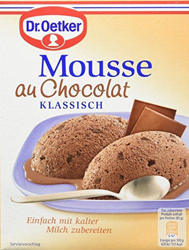 Dr. Oetker Mousse Au Chocolat, 8er Pack (8 x 92 g)