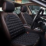 Chenmu Auto beheizt Sitzbezug-Set Auto Zubehör VehicleStuhlkoffer BeschützerBlack für w203 w204 w205 w211 gla glc glk ml