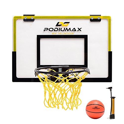 ballkorb Set für Indoor-Spiel, Basketball Wand-Hoops & Ziele Perfekt für Schlafzimmer, Office Shoot & Dunk, kommen mit Mini Ball und Pumpe ()