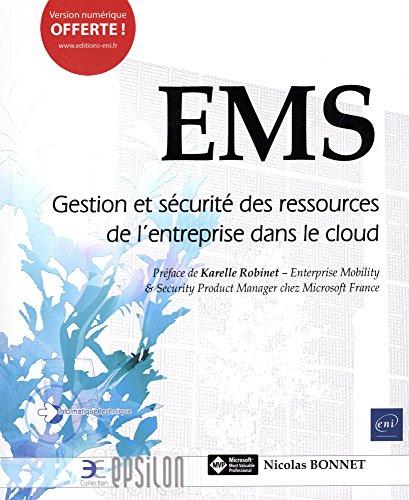 EMS - Gestion et sécurité des ressources de l'entreprise dans le cloud par Nicolas BONNET