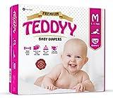 Teddyy Premium Baby Medium Size Diaper (...