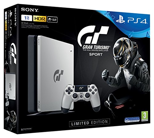 PS4 1TB + GT Sport – Special Edition [Bundle]