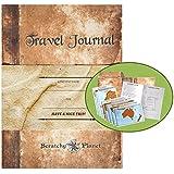 Scratchy Planet Travel Journal - Reisetagebuch für Reisenotizen, inklusive acht Landkarten zum Rubbeln, Weltkarte zu freikratzen