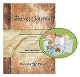 Scratchy Planet Travel Journal – Reisetagebuch für Reisenotizen, inklusive acht Landkarten zum Rubbeln, Weltkarte zu freikratzen