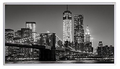19 Bildheizung im Shop Infrarot Heizung 600 Watt New York Skyline (schwarz weiss) Fern Infrarotheizung - 5 Jahre Herstellergarantie- Elektroheizung mit Überhitzungsschutz - Infrarotheizung Heizt bis 18m² Raum - mitgeliefert wird ein Zertifikat durch deutsche Ingenieurgesellschaft zur Prüfung der Infrarotheizungsysteme auf Sicherheit - Unsere Geräte sind geprüft auf Sicherheit durch TÜV und/oder deustsche anerkannte Ingenieurgesellschaft