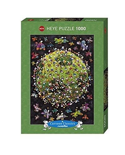 Heye 29359 - Pallone da Calcio Puzzle 1000 Pezzi, Multicolore