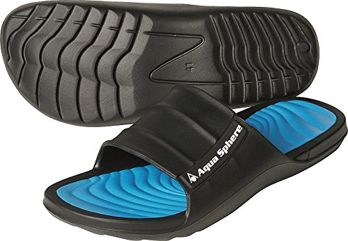 Aqua Sphere Wave Pool Schuh, unisex, Wave, Black/Royal (Booties Sandale Schuhe)