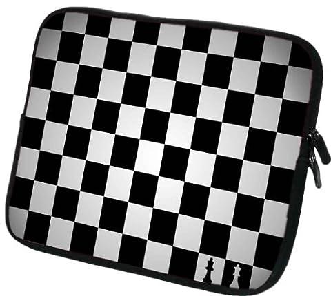 """9,7-10,2 Zoll Tablet-PC (z.B. Amazon Fire HD 10, Archos 101 Neon / Oxygen / Cooper / Helium / Titanium, HP Slate 10 HD, Huawei MediaPad M2, Samsung Galaxy Tab S2 9.7 / Note 10.1) Schutzhülle - sehr hochwertige & edel verarbeitete Tablettasche / Tablethülle aus wasserfesten Neopren mit eingenähter Doppelnaht, premium Reißverschluss und aufwendigen Designeraufdruck! Die Hülle eignet sich für Tablet-Computer diverser Hersteller bis 25,5x21cm ( zirka 9,7"""" bis 10,2"""")"""
