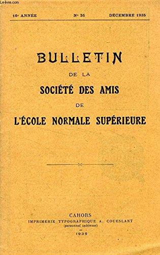 BULLETIN DE LA SOCIETE DES AMIS DE L&#39...