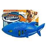 Nerf Dog Super Soaker Floating Shark Football Toy