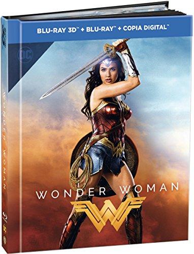 Wonder Woman Ed. Digibook Blu-Ray 3d...