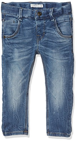 NAME IT Jungen Jeans Nittingo Bag/Slim DNM Pant NMT Noos, Blau (Medium Blue Denim), 92