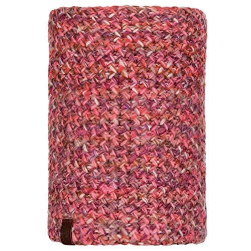 Buff - scaldacollo da donna margo lavorato a maglia, colore: fenicottero, taglia unica