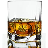 Pasabahce Classic Designer Whisky Glass| Set Of 6 Pcs |368 Ml|Wine Glass|Imported Glass| With Beautiful Box