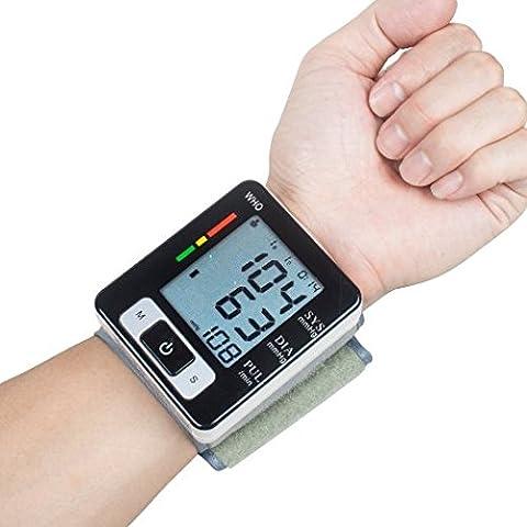 Gearmax® Elettronico Automatico Sfigmomanometro Pressione Sanguigna Del Polso