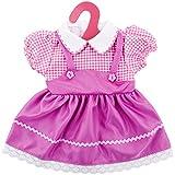 """ZOEON Vestiti per Bambole per New Born Baby Doll, Abito per 17-18 """"Girl Bambolotti (40-45 cm)"""