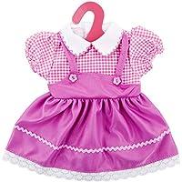 "ZOEON Ropa de Muñecas para New Born Baby Doll, Vestido para 17-18 ""Girl Muñecas (40-45 cm)"