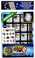 Exclusive Statiking medal included;12 storage slots per page (Medals each sold separately, subject to availability);Kids can use the included stickers to customise;Kids can add these Yo-kai character and storage pages to a Yo-kai Watch Medall...