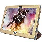MaxKu Jumper Ezpad 6 Pro 11.6 inch Etui Housse, Slim Smart Cover Housse de Protection pour Jumper Ezpad 6 Pro 11.6 inch Tablette (Or)