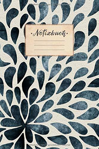 Format Tinte Gelb (Notizbuch: DIN A5 Format, 100 linierte Seiten, glänzendes Softcover-Design, weißes Papier | Notizheft - Tagebuch - Journal - Planer | Cover: Tinten Tropfen Schwarz Weiß Beige Kunst Muster Verkauf)