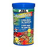 JBL 40145bord alimentaire pour tous les poissons de bassin, Pond ticks 4en 1, 1L