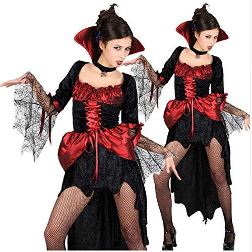 (GHLLSAL Halloween Kostüm Geist Festival Kleidung Earl Kleidung Zombie Vampire Knight Cosplay Kostüm Anzug, Eine Größe)