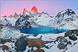 Lienzo 30 x 20 cm: Mount Fitz Roy and the Laguna de los Tres de Jaynes Gallery / Danita Delimont - cuadro terminado, cuadro sobre bastidor, lámina terminada sobre lienzo auténtico, impresión en lie...