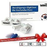 Beruhigungs-Zäpfchen® für Karlsruhe-Fans | Für Freunde von KSC-Fanartikeln, Kaffee-Tassen, Fan-Schals sowie Männer, Kollegen & Fans im Karlsruhe SC Trikot Home