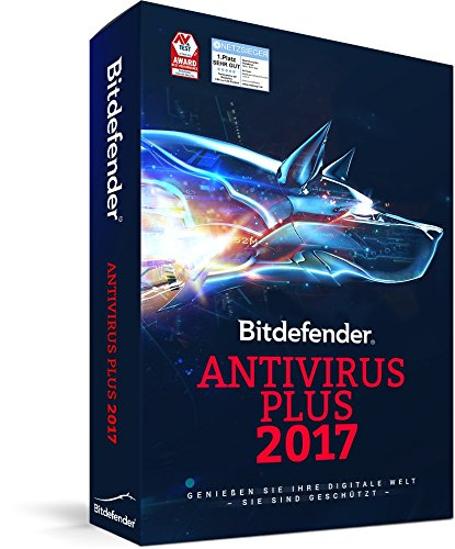 Bitdefender Antivirus Plus 2017 - 3 PC | 1 Jahr...