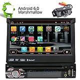 Camera libera inclusa! 2 GB di RAM Android 6.0 Autoradio singolo Radio baccano autoradio in precipitare sostegno Headunit GPS Navigation FM AM RDS Specchio collegamento Bluetooth SWC OBD DAB + WIFI 3G / 4G