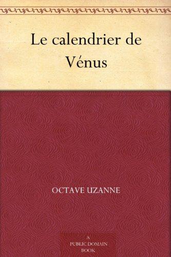 Couverture du livre Le calendrier de Vénus