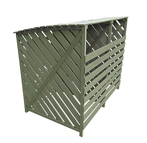 Other Sage Green Double Wheelie Bin Storage